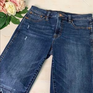 J Crew High Rise Vintage Straight Jeans Size 30